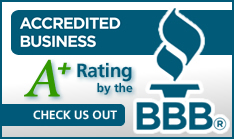Better Business Bureau A+ Banner